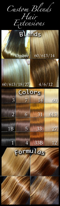 Custom Blends Hair Extensions in Seattle