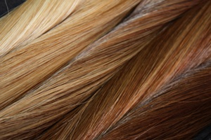 Custom Color blended hair extensions